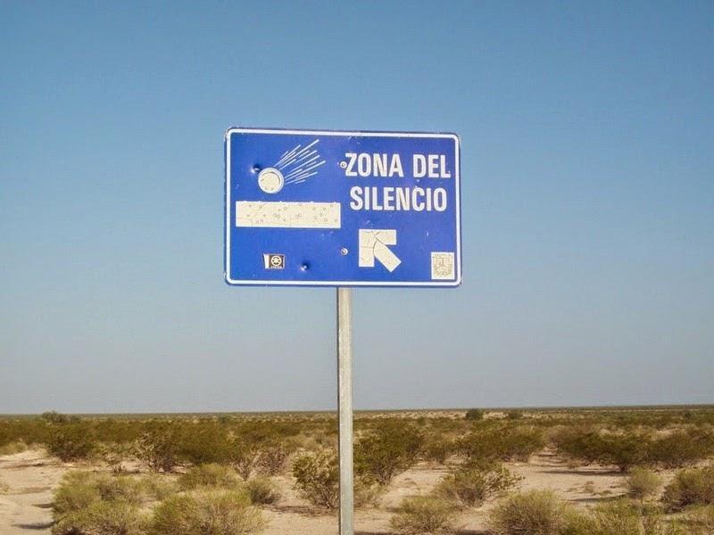 Зоната на тишината в Мексико