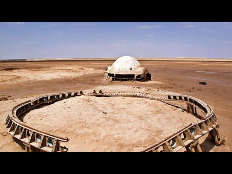 Тайнствени снимки показват изоставените Star Wars декори в Тунис - картинка 2