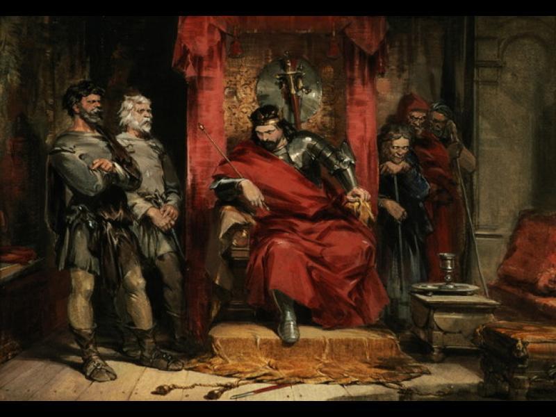 Истинският Макбет - легендарен крал на Шотландия, воин и... интригант!