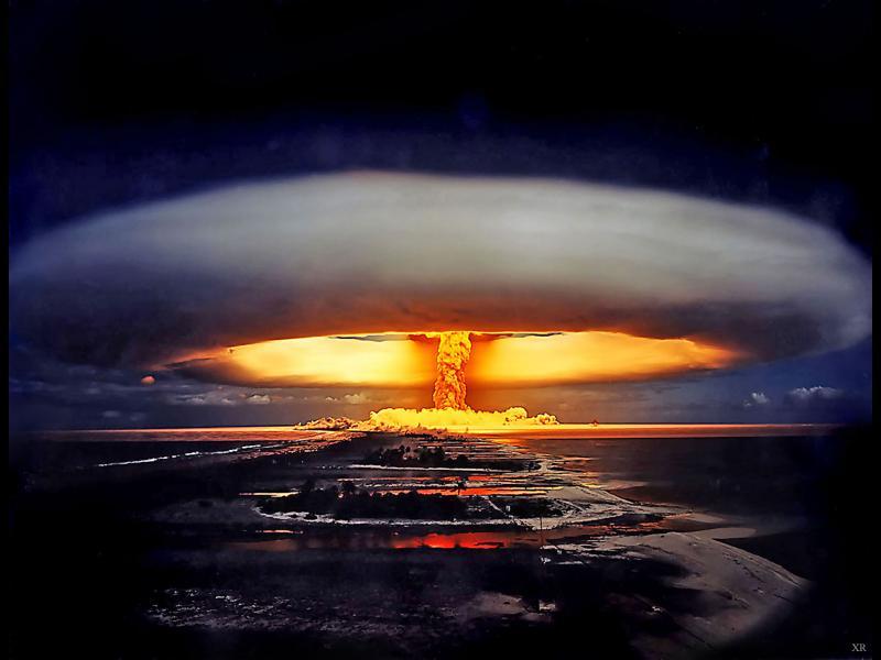 Земята носи белезите на почти 2100 ядрени експлозии от последните 60 години