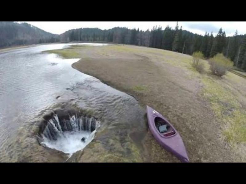 Езеро в Южна Америка изчезна мистериозно?!