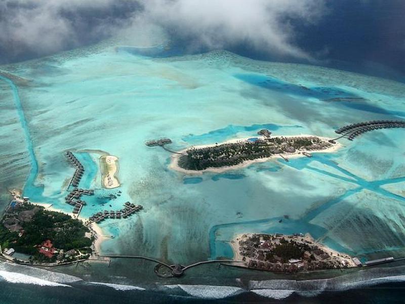 10 снимки от високо: Малдивите