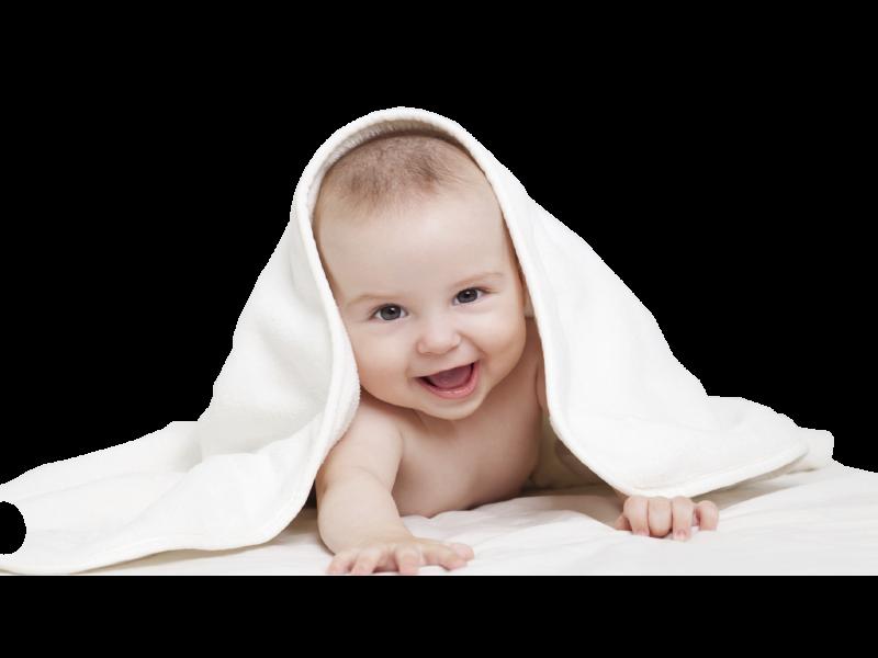 Как бебчето вижда света около него?