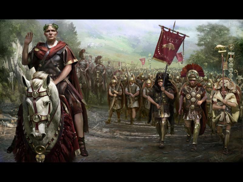 """Гай Юлий Цезар изпраща до Римския сенат своето прочуто съобщение """"Veni, vidi, vici"""""""