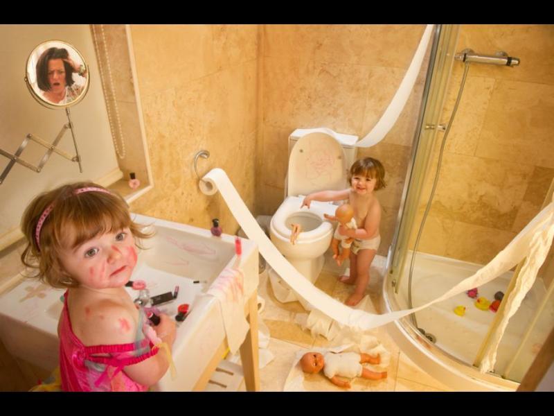 20 снимки, които показват, че никога не е скучно с деца