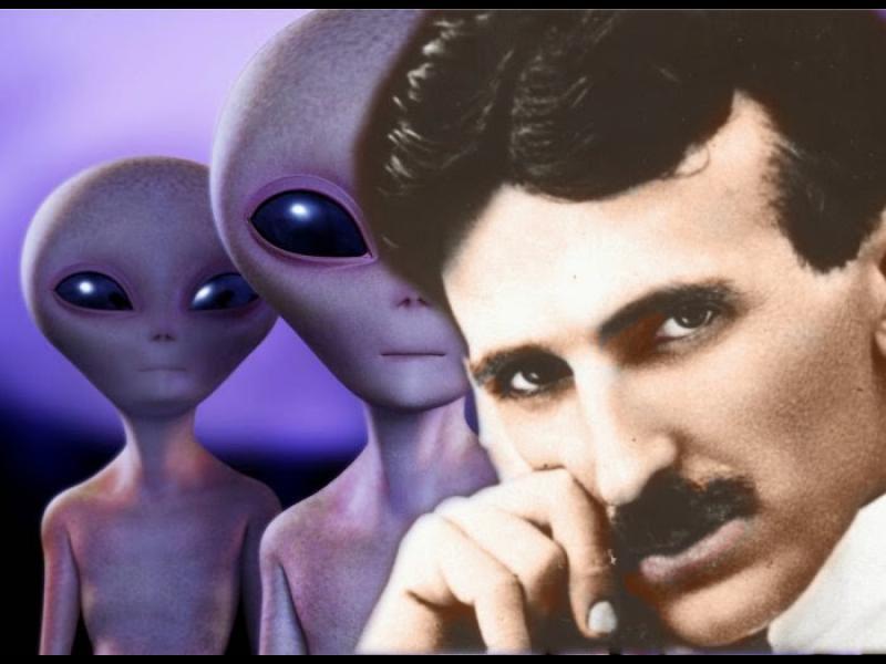 Никола Тесла контактувал с извънземна цивилизация...?