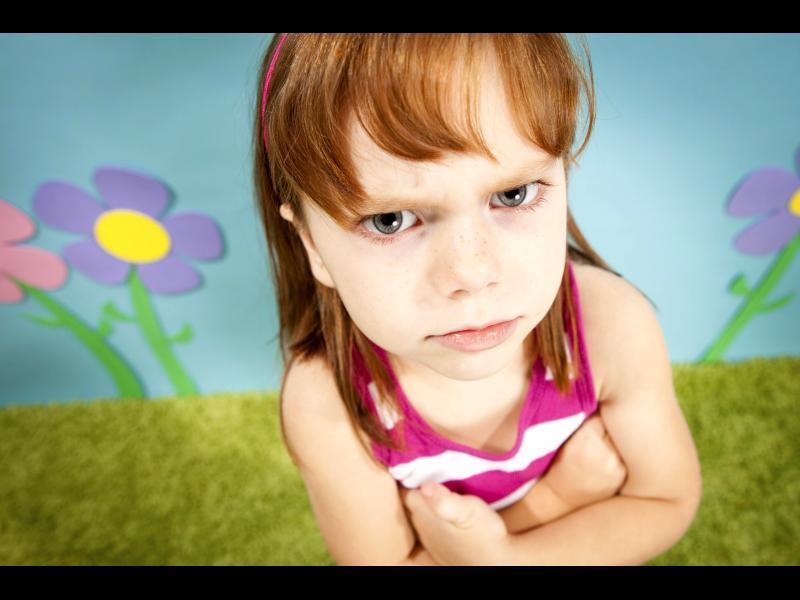 Избухливо ли в детето ви?