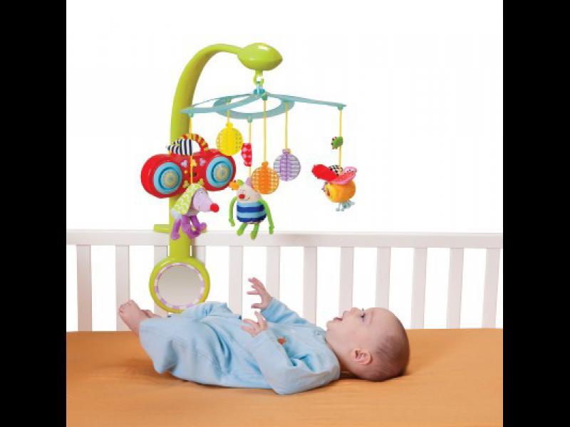 Как играчките на кошарката влияят на съня на бебето? - картинка 1