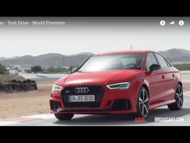 Ето го и Audi RS3 седан