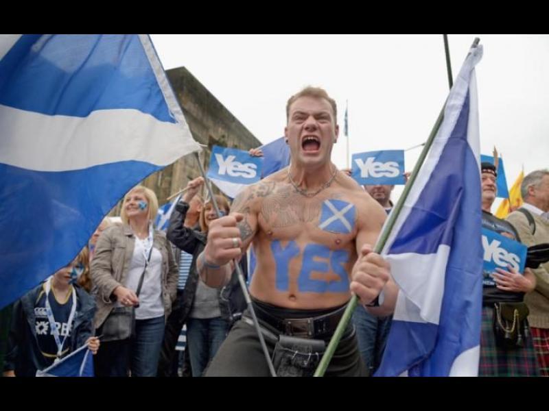 Преди точно три години Шотландия гласува да остане в Обединеното кралство, за да запази членството си в ЕС