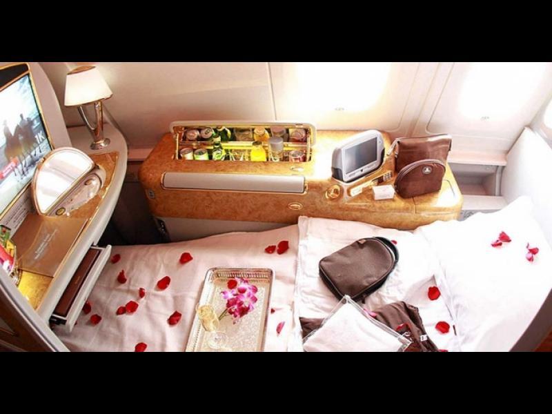 Ето какво е да пътуваш първа класа в Emirates