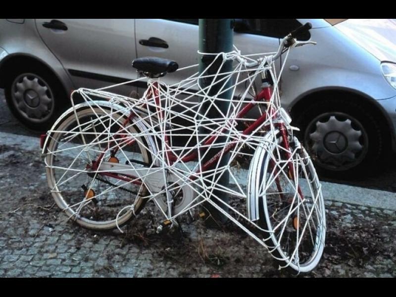 Пич, къде ми е колелото?