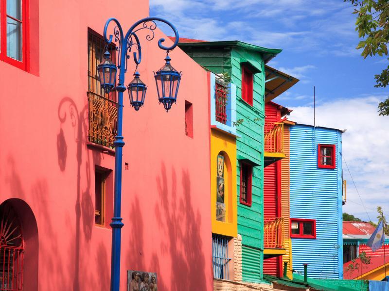 Ла Бока - пъстрото сърце на Буенос Айрес
