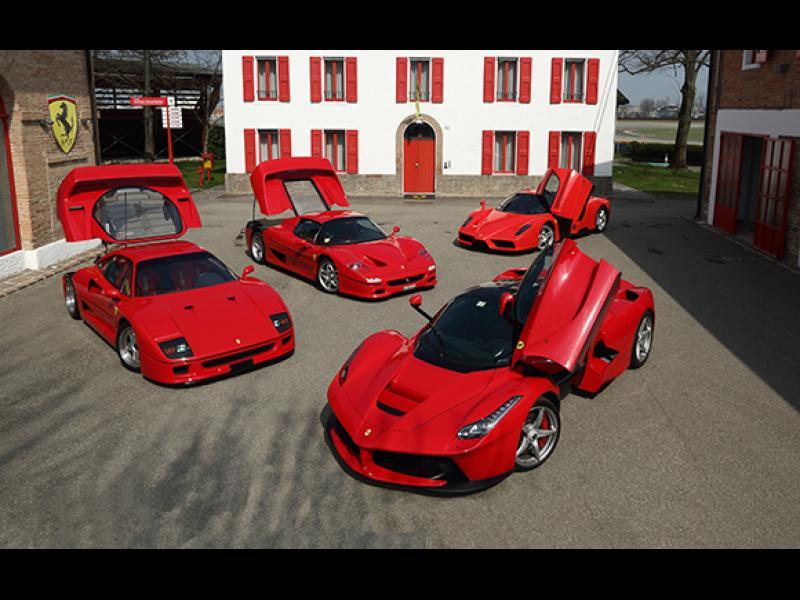 Ferrari на цената на нов Боинг: 10-те най-скъпи модела на марката