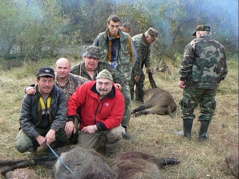 Ути Бъчваров: Горд съм, че избивам животни!