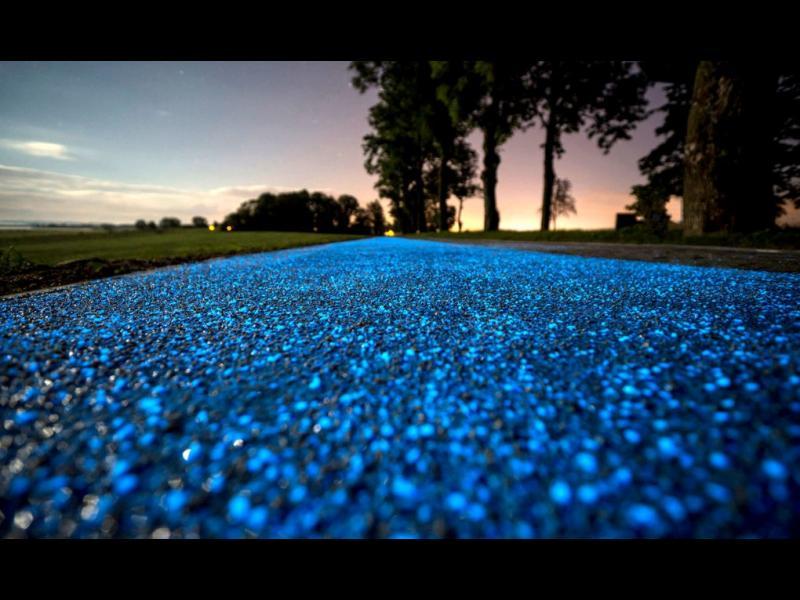 Удивителните сини велоалеи в Полша!