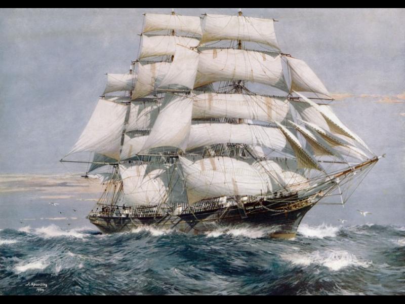 """Корабът, който не стана """"най-бързият"""", но се прочу като """"най-упорития"""""""