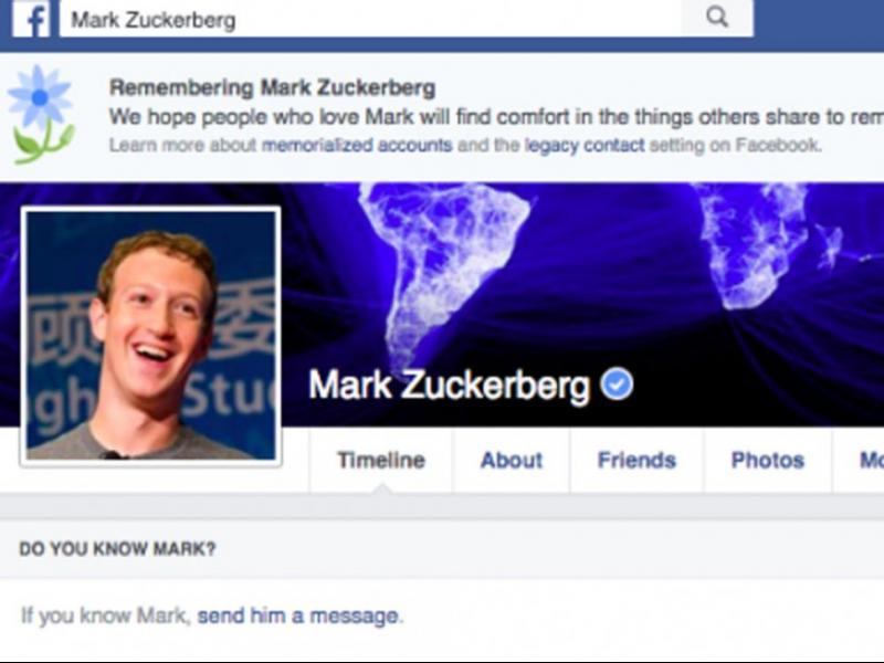Срив във Facebook обяви стотици потребители за мъртви, включително Марк Зукърбърг