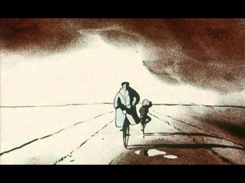 Една трогателна късометражна анимацията за отношенията баща-дъщеря
