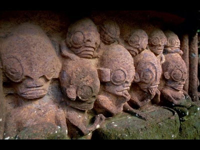 Хората-рептилии от Величествения остров