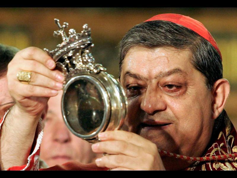 Лоша поличба за света: Чудото с кръвта на Св. Дженаро тази година не се случи