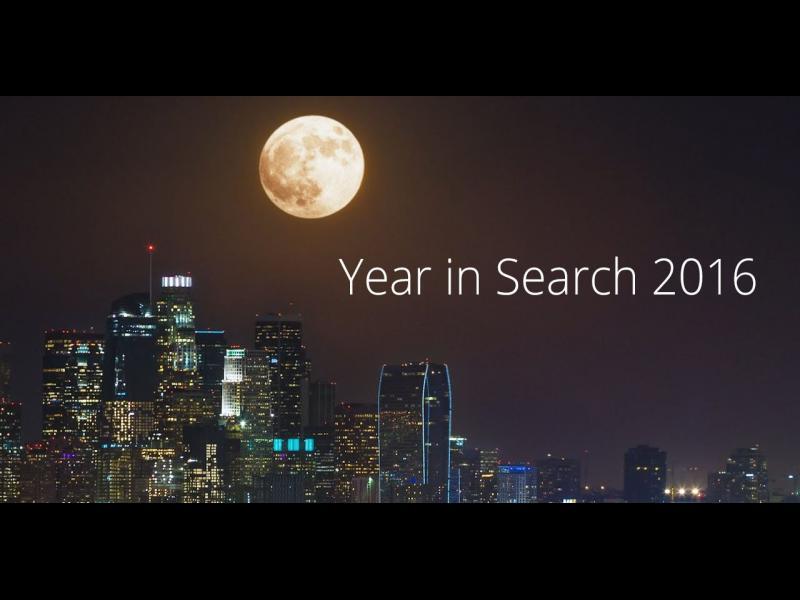 Year in search: Най-търсените неща в Google /ВИДЕО/