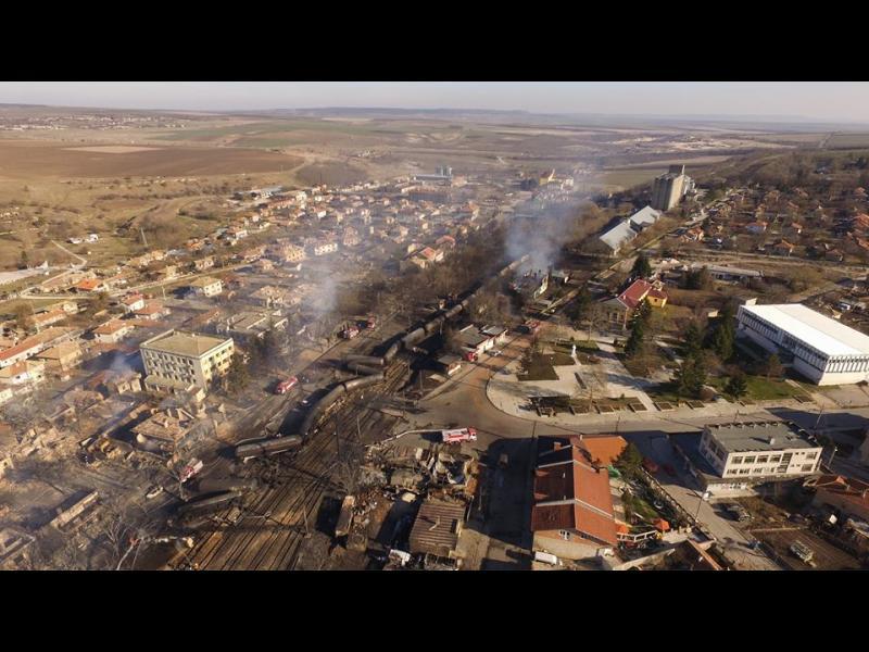 Ужасът в Хитрино предизвикан от висока скорост, има изтичане на газ