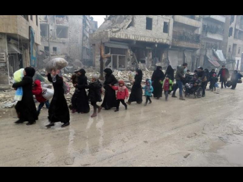 Гледаме на живо как Алепо гори. Същото правихме и с Руанда и Босна
