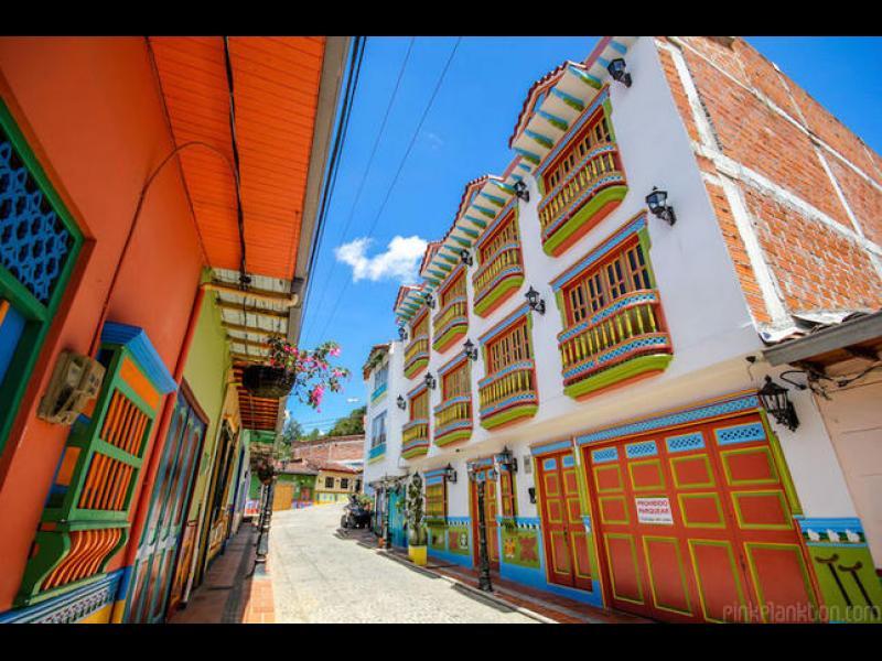 Най-цветният град в света /СНИМКИ/