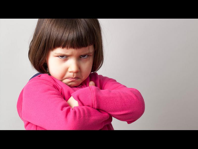 Когато се ядосате на непослушното дете