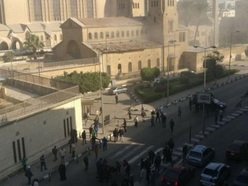 25 жертви на атентат в коптска църква в Египет