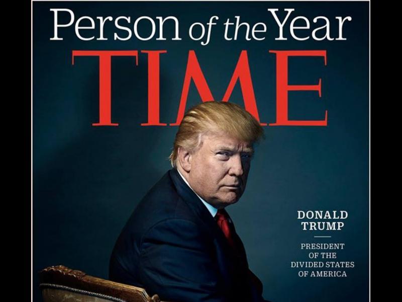"""Доналд Тръмп е личност на годината на списание """"Тайм"""""""