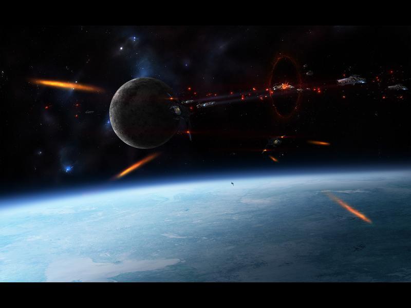 Войната на бъдещето: лазери, спътници-камикадзета и космически похитители