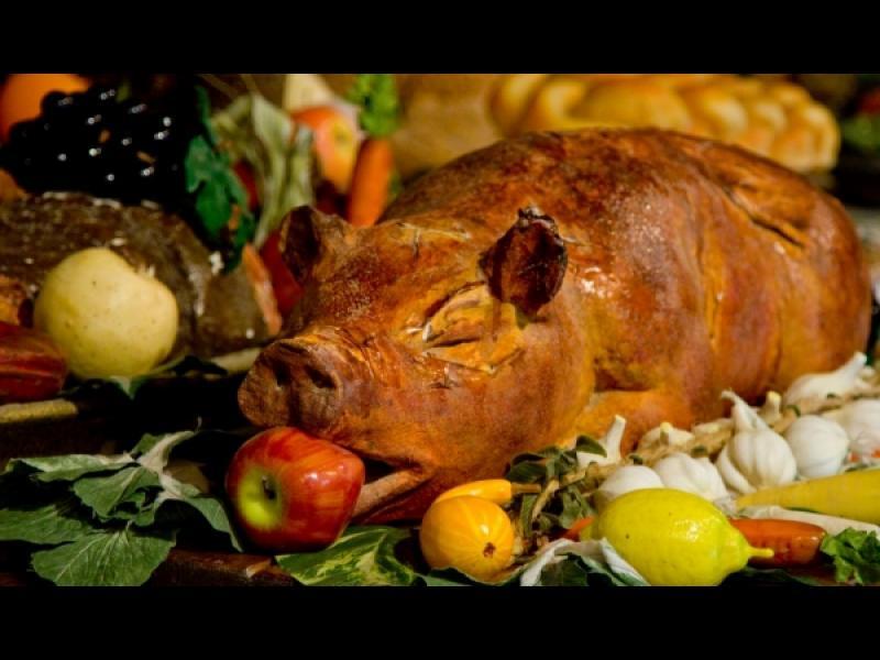 Манджите на баба: Пълнено прасенце