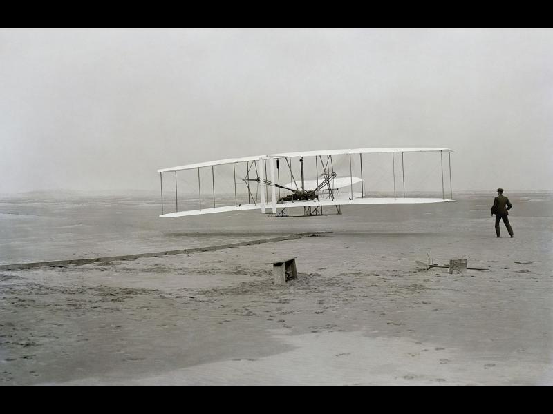 Денят, в който хората започнаха да летят