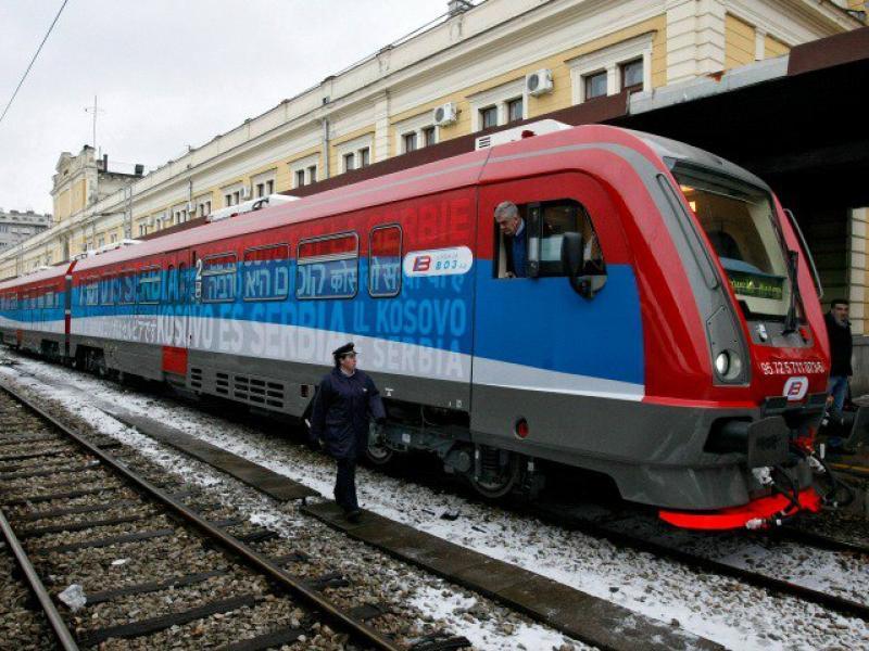 Сърбия заплаши Косово с война заради спрян влак