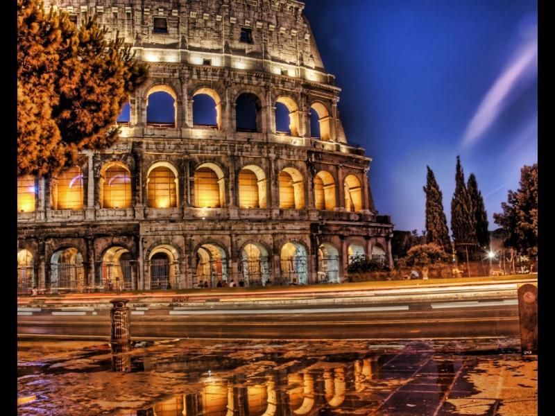 Изгубете се сред улиците на Рим с това великолепно видео