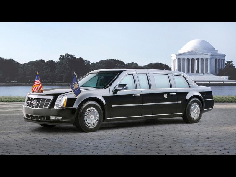 С какво се возят американските президенти?