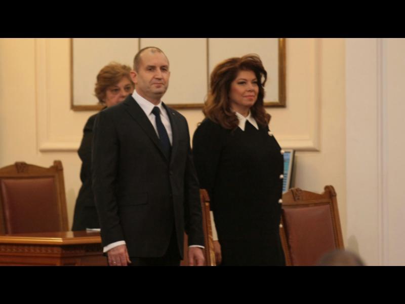 Румен Радев и Илияна Йотова положиха клетва /НА ЖИВО/