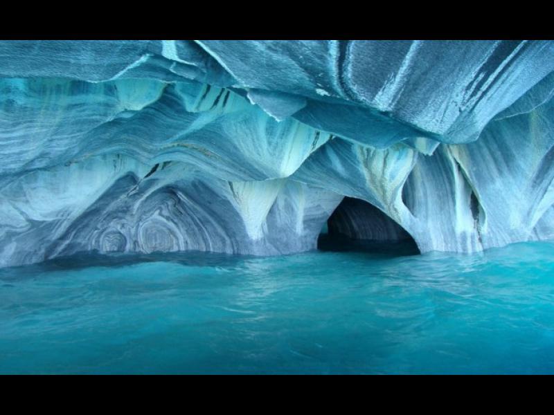 Възхитителните Мраморни пещери на Патагония /СНИМКИ/