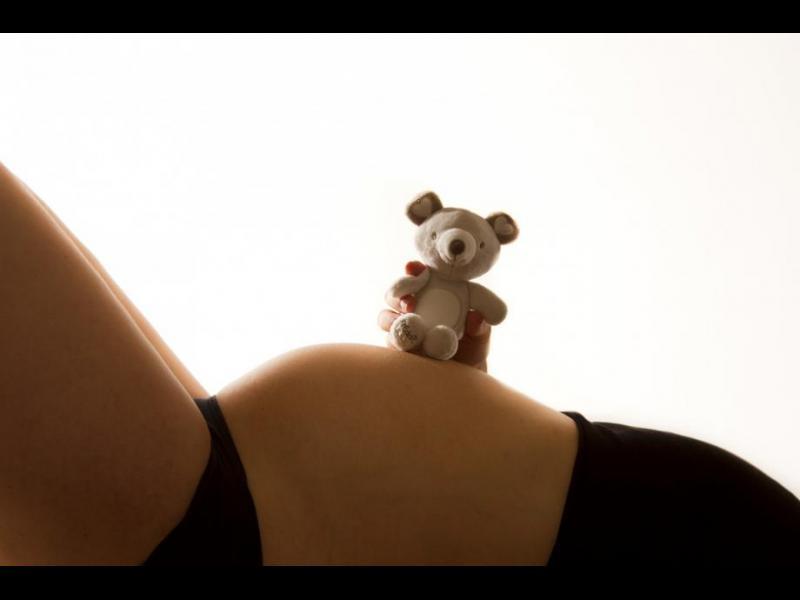 Депресията на бременната не се отразява на бебето