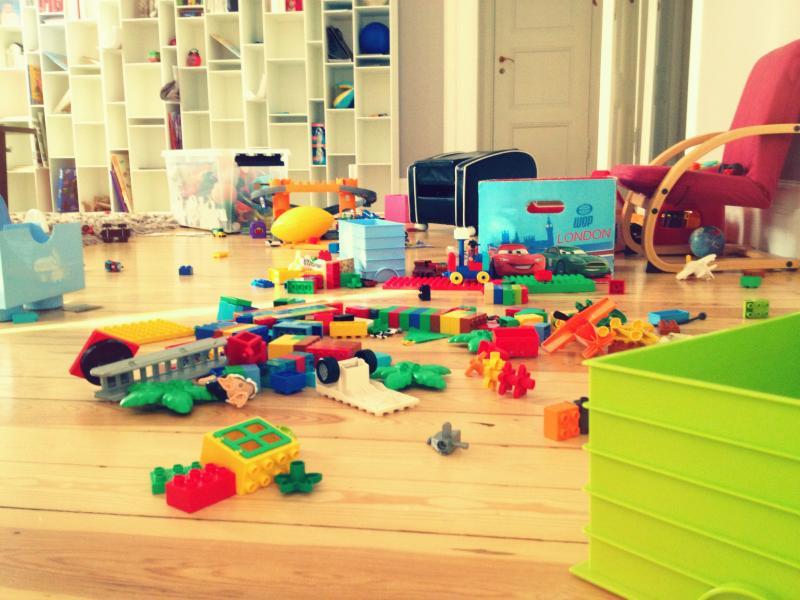3 трика за съхраняване на играчките