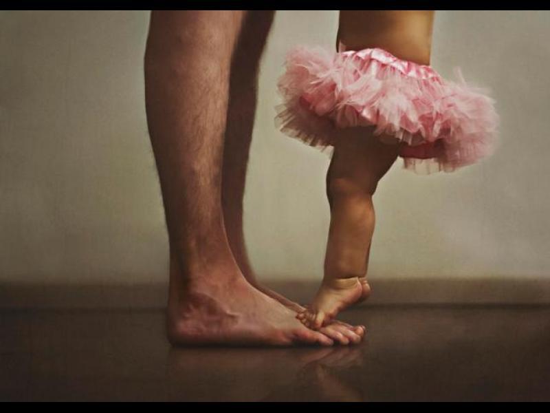 20 трогателни снимки, показващи силната любов между баща и дъщеря