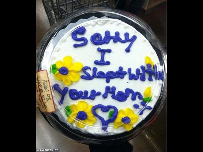 Най-смешните торти с безумни извинения /СНИМКИ/