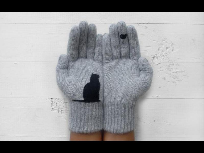 Топли плетени ръкавички със симпатични фигури /ГАЛЕРИЯ/