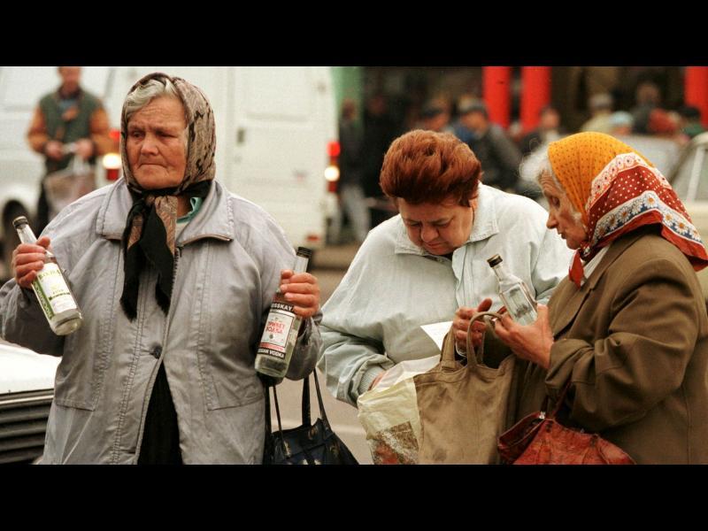 10 вица за Русия и водката