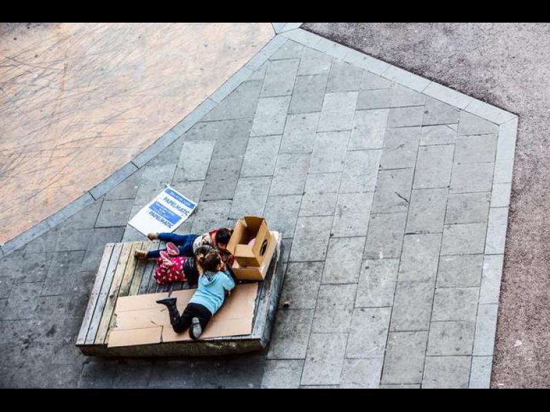 Барселона: Животът на една пейка /ГАЛЕРИЯ/ - картинка 1