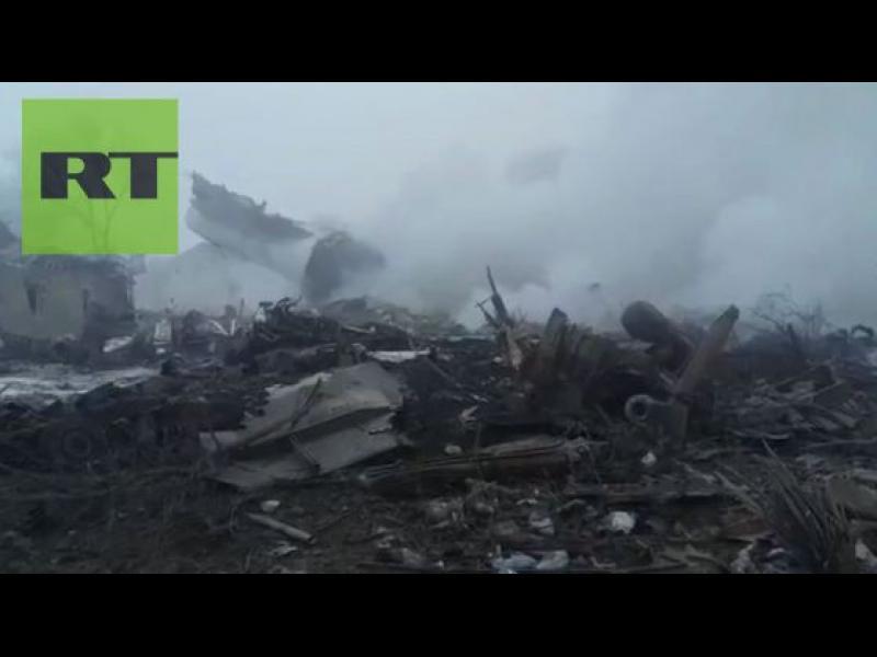 37 загинали при самолетна катастрофа в Киргизстан /ВИДЕО/