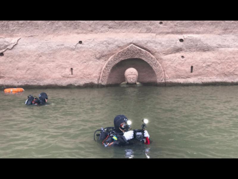 Загадъчна находка изплува изпод водата в Китай