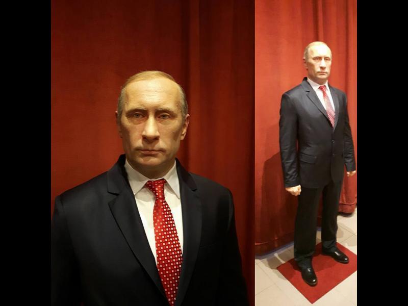 Нова Година в Сърбия: Восъчни фигури - Тито, Путин, Тръмп